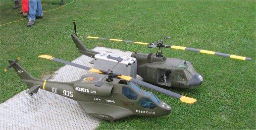 modellini di elicotteri militari RC radiocomandati