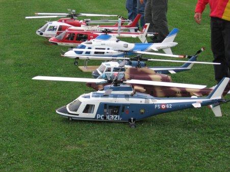 Modellini di elicotteri RC