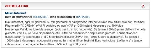 descrizione offerta maxxi internet