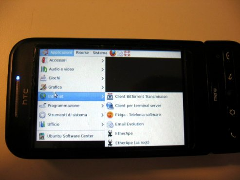 Tunnel Ssh Vnc con Android