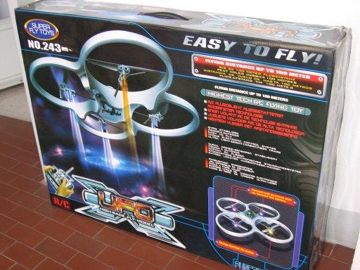 X-Ufo imballo