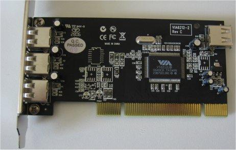 Scheda USB su bus PCI